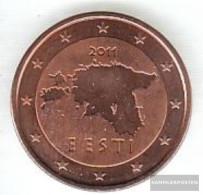 Estonia Est 3 2011 Stgl./unzirkuliert Stgl./unzirkuliert 2011 Kursmünze 5 Cent - Estonia