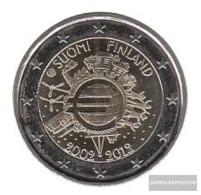 Finland 2012 Stgl./unzirkuliert Stgl./unzirkuliert 2012 2 Euro 10 Years Euro Cash - Finland