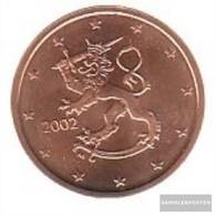Finland FIN 2 2002 Stgl./unzirkuliert Stgl./unzirkuliert 2002 Kursmünze 2 Cent - Finland