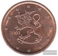 Finland FIN 3 2001 Stgl./unzirkuliert Stgl./unzirkuliert 2001 Kursmünze 5 Cent - Finland
