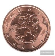 Finland FIN 3 2002 Stgl./unzirkuliert Stgl./unzirkuliert 2002 Kursmünze 5 Cent - Finland
