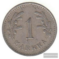 Finland Km-number. : 30 1928 Very Fine Copper-Nickel Very Fine 1928 1 Markka Leo - Finland