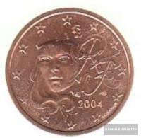 France F 2 2004 Stgl./unzirkuliert Stgl./unzirkuliert 2004 Kursmünze 2 Cent - France