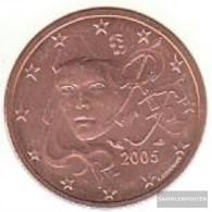France F 2 2005 Stgl./unzirkuliert Stgl./unzirkuliert 2005 Kursmünze 2 Cent - France