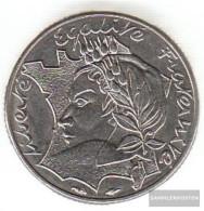 France Km-number. : 959 1986 Extremely Fine Nickel Extremely Fine 1986 10 Francs Madame Republic Before Landk - K. 10 Francs