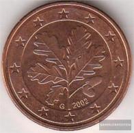 FRD (FR.Germany) D 3 2002 A Stgl./unzirkuliert Stgl./unzirkuliert 2002 Kursmünze 5 Cent - Germany