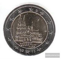 FRD (FR.Germany) Jägernr: 558 2011 F Stgl./unzirkuliert Stgl./unzirkuliert 2011 2 Euro Cologne Dom - Germany