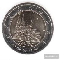 FRD (FR.Germany) Jägernr: 558 2011 G Stgl./unzirkuliert Stgl./unzirkuliert 2011 2 Euro Cologne Dom - Germany