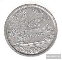 French Oceania Km-number. : 1 1949 Stgl./unzirkuliert Aluminum Stgl./unzirkuliert 1949 50 Centimes Liberté - Colonie