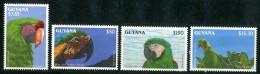 GUYANA 1993** - Pappagalli - 4 Val. MNH Come Da Scansione - Pappagalli & Tropicali