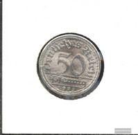German Empire Jägernr: 301 1921 A Stgl./unzirkuliert Aluminum Stgl./unzirkuliert 1921 50 Pfennig Ährengarbe - [ 3] 1918-1933 : Weimar Republic