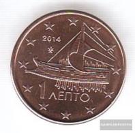 Greece Grams 1 2014 Stgl./unzirkuliert Stgl./unzirkuliert 2014 Kursmünze 1 Cent - Greece