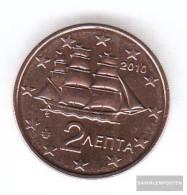 Greece Grams 2 2010 Stgl./unzirkuliert Stgl./unzirkuliert 2010 Kursmünze 2 Cent - Greece