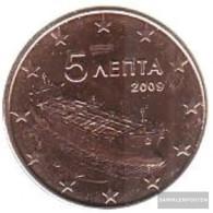 Greece Grams 3 2009 Stgl./unzirkuliert Stgl./unzirkuliert 2009 Kursmünze 5 Cent - Greece