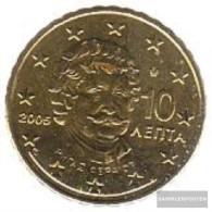 Greece Grams 4 2005 Stgl./unzirkuliert Stgl./unzirkuliert 2005 Kursmünze 10 Cent - Greece