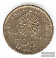 Greece Km-number. : 159 1994 Extremely Fine Aluminum-Bronze Extremely Fine 1994 100 Drachmen Alexanthe The Great - Grèce