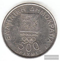 Greece Km-number. : 177 2000 Extremely Fine Copper-Nickel Extremely Fine 2000 500 Drachmen Diagoras - Grèce