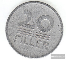 Hungary Km-number. : 550 1953 Very Fine Aluminum Very Fine 1953 20 Filler Weizenähren - Hungría
