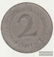 Hungary Km-number. : 556 1965 Very Fine Copper-Nickel-zinc Very Fine 1965 2 Forint Crest - Hungary