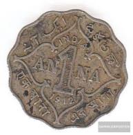 India Km-number. : 513 1936 Very Fine Copper-Nickel Very Fine 1936 1 Anna George V. - India
