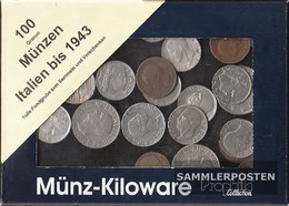 Italy 100 Grams Münzkiloware  Until 1943 - Coins & Banknotes