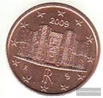 Italy I 1 2009 Stgl./unzirkuliert Stgl./unzirkuliert 2009 Kursmünze 1 Cent - Italy