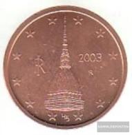 Italy I 2 2003 Stgl./unzirkuliert Stgl./unzirkuliert 2003 Kursmünze 2 Cent - Italy