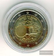 Luxembourg 2007 Stgl./unzirkuliert Stgl./unzirkuliert 2007 2 Euro Roman Contracts - Luxembourg