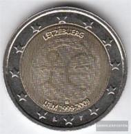Luxembourg 2009 Stgl./unzirkuliert Stgl./unzirkuliert 2009 2 Euro E.M.u. - 10 Years Currency - Luxemburgo