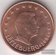 Luxembourg Luxembourg 1 2004 Stgl./unzirkuliert Stgl./unzirkuliert 2004 Kursmünze 1 Cent - Luxembourg