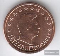 Luxembourg Luxembourg 2 2002 Stgl./unzirkuliert Stgl./unzirkuliert 2002 Kursmünze 2 Cent - Luxembourg