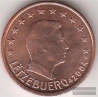Luxembourg Luxembourg 2 2004 Stgl./unzirkuliert Stgl./unzirkuliert 2004 Kursmünze 2 Cent - Luxembourg