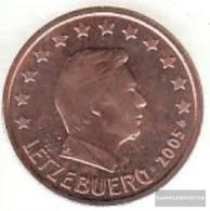 Luxembourg Luxembourg 2 2005 Stgl./unzirkuliert Stgl./unzirkuliert 2005 Kursmünze 2 Cent - Luxembourg