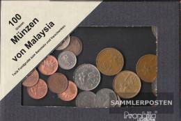 Malaysia 100 Grams Münzkiloware - Malaysie