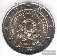 Malta 2014 Stgl./unzirkuliert Reprint: 300.000 Stgl./unzirkuliert 2014 2 Euro 200 Years Police - Malta