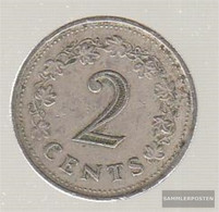 Malta Km-number. : 9 1977 Very Fine Copper-Nickel Very Fine 1977 2 Cent Penthesilea - Malta