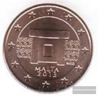 Malta M 1 2013 Stgl./unzirkuliert Stgl./unzirkuliert 2013 1 Cent Kursmünze - Malta