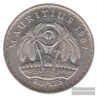 Mauritius Km-number. : 56 1991 Extremely Fine Copper-Nickel Extremely Fine 1991 5 Rupien Ramgoolam - Mauritius