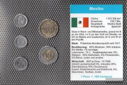 Mexico Stgl./unzirkuliert Kursmünzen Stgl./unzirkuliert 2002-2009 5 Centavos Bis1 Peso - Mexico