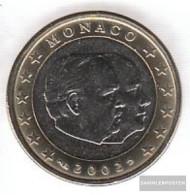 Monaco MON 7 2002 Stgl./unzirkuliert Stgl./unzirkuliert 2002 Kursmünze 1 Euro - Monaco