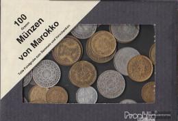 Morocco 100 Grams Münzkiloware - Coins & Banknotes