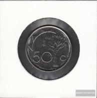 Namibia - Southwest Km.-number.: 3 1993 Stgl./unzirkuliert Steel, Nickel Plattiert Stgl./unzirkuliert 1993 50 Cents Köc - Namibia