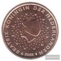 Netherlands NL 1 2005 Stgl./unzirkuliert Stgl./unzirkuliert 2005 Kursmünze 1 Cent - Netherlands