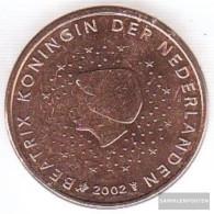 Netherlands NL 2 2002 Stgl./unzirkuliert Stgl./unzirkuliert 2002 Kursmünze 2 Cent - Netherlands