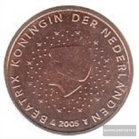 Netherlands NL 2 2005 Stgl./unzirkuliert Stgl./unzirkuliert 2005 Kursmünze 2 Cent - Netherlands