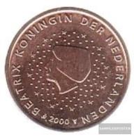 Netherlands NL 3 2000 Stgl./unzirkuliert Stgl./unzirkuliert 2000 Kursmünze 5 Cent - Netherlands