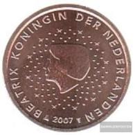 Netherlands NL 3 2007 Stgl./unzirkuliert Stgl./unzirkuliert 2007 Kursmünze 5 Cent - Netherlands