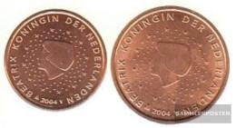 Netherlands NL1 - 2 2004 Stgl./unzirkuliert Stgl./unzirkuliert 2004 Kursmünze 1 And 2 Cent - Netherlands