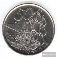 New Zealand Km-number. : 119 2006 Stgl./unzirkuliert Copper-Nickel Stgl./unzirkuliert 2006 50 Cents Elizabeth II. - New Zealand