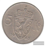 Norway Km-number. : 412 1973 Very Fine Copper-Nickel Very Fine 1973 5 Kroner Olav V. - Norway